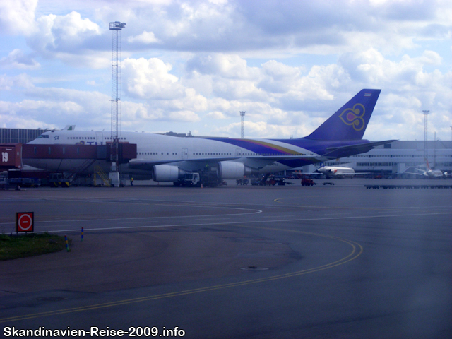 Boeing 747 von Thai Airways International - HS-TGZ
