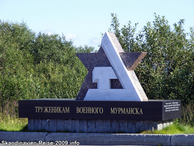 Denkmal in Murmansk