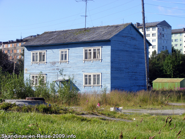 Haus in Murmansk