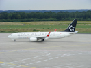 Boeing 737-800 von Turkish Airlines mit Star Alliance lackierung